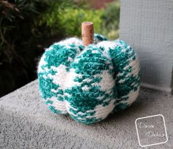 Pretty in Gingham Pumpkin
