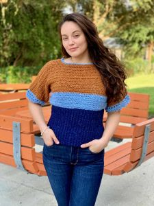 Color Block T-Top