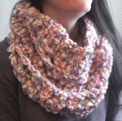 Cotton Candy Popcorn Cowl