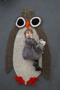Who's Sleepy Owl Afghan