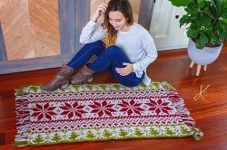 Holiday Fair Isle Rug