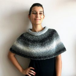 Silver Lining Capelet