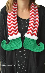 Jingle Bells Elf Scarf