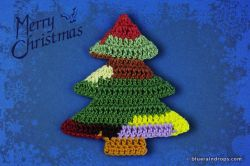 Simple Crochet Christmas Tree