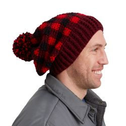 Buffalo Plaid Hat for Him