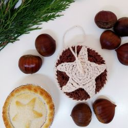 Mince Pie Christmas Ornament