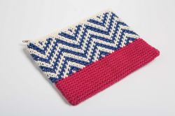 Tapestry Zipper Pouch