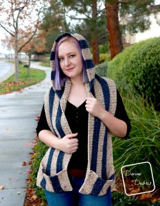 Artemis Hooded Scarf