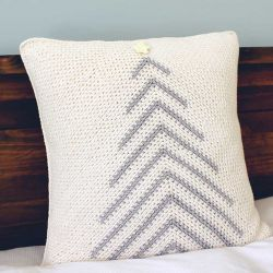Modern Christmas Tree Pillow