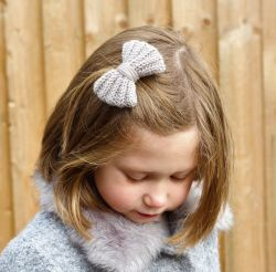 Crochet Hair Bow