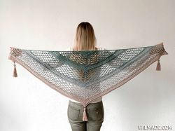 Vela Flower Friend Shawl