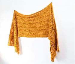 Bobble Ripple Shawl
