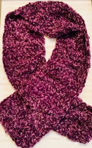 Super Easy, Super Soft, Velvet Crochet Scarf