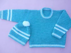 Baby Boy Round Neck Sweater