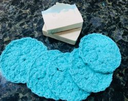 Crochet Reusable Wash Cloth