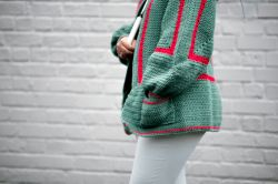 Mathilda's Easy Crochet Cardigan