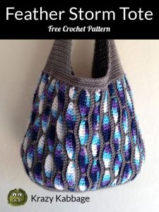 Feather Storm Tote