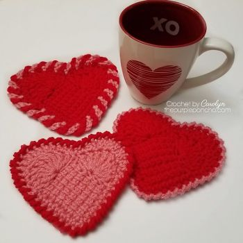 Sweet Heart Coasters