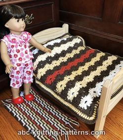 Doll Flower Blanket