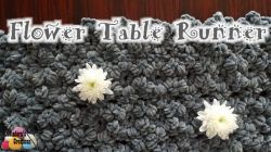 Flower Table Runner