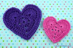 Lovely Crocheted Heart