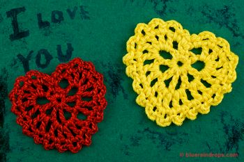 Small Crocheted Heart