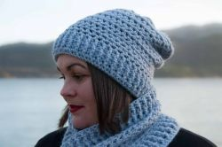 Winter Seashore Hat