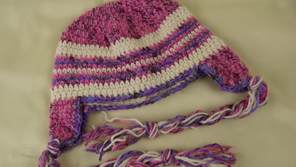 Crochet Patterns Galore - American Girl Doll Ear Flap Hat