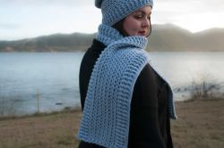 Winter Seashore Scarf