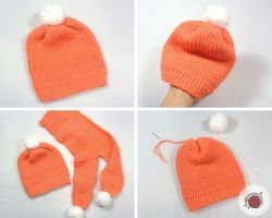 Tunisian Toddler Beanie