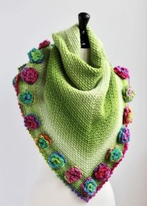 Flower Meadow Shawl