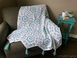 Succulent Spring Hexagon Afghan