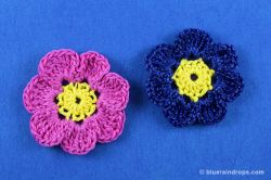Crochet Flower Artemis