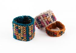 Tunisian Crochet Cuffs