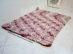 Thermal Stitch Bath Mat