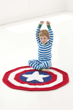 Crochet Patterns Galore Little Super Hero Blanket