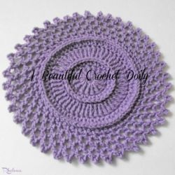 Worsted Weight Crochet Doily