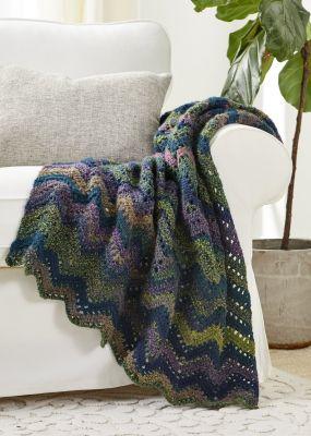 Crochet Patterns Galore Cheyenne Chevron Throw