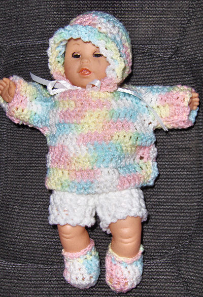 Crochet Patterns Galore Bevs Dolly Outfit