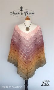 Morning Glow Poncho