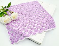 Square Lace Doily