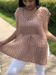 Crochet Poncho Summer Top