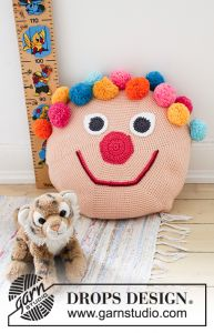 Bongo the Clown Pillow