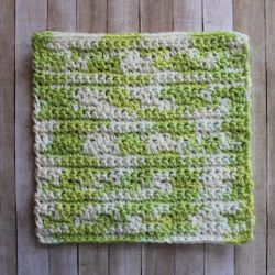 Double Lemon Peel Dishcloth