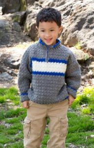 Crochet Patterns Galore Rugby Pullover
