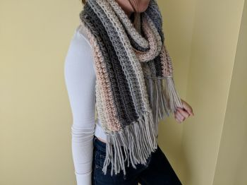 Highlands Chunky Ribbed Scarf