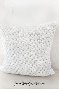 Modern Crochet Pillow