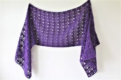 Alice Sideways Shawl