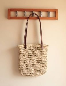 Summer Raffia Bag
