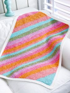 The Sherbet Baby Blanket